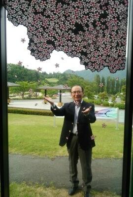 6月17日 富士川・切り絵の森美術館 訪問
